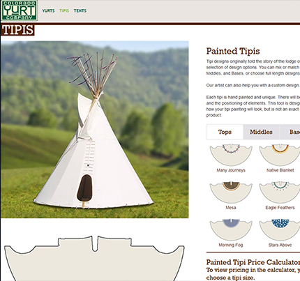 Custom TIPI Work Portfolio