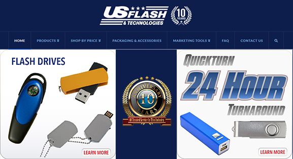 SVG Technology For USB Drive Designs